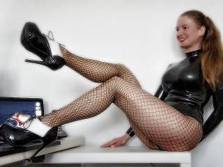 Aurora Van Laak Fetish erzieht im Latexcatsuit